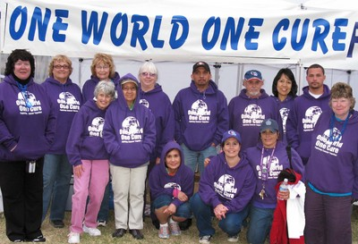 Team One World One Cure T-Shirt Photo