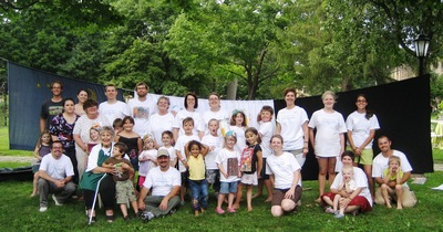 Laugh! Play! Help Today! T-Shirt Photo
