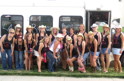 Last Rodeo Bachelorette Party  T-Shirt Photo
