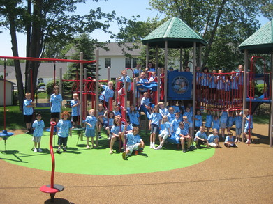 Lll Kids On Our New Playground T-Shirt Photo