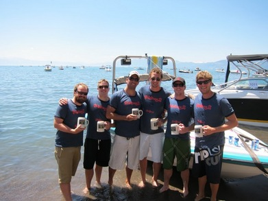 Trans Tahoe Relay Swim 2010 T-Shirt Photo