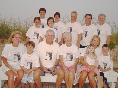 Dooley Family 50th, Beach Party Rehoboth Beach, De T-Shirt Photo