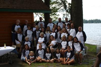 Birkeland Family Reunion, Side Lake, Mn T-Shirt Photo