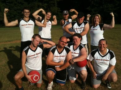 Sidetracks Sidekicks Kickball Team  T-Shirt Photo