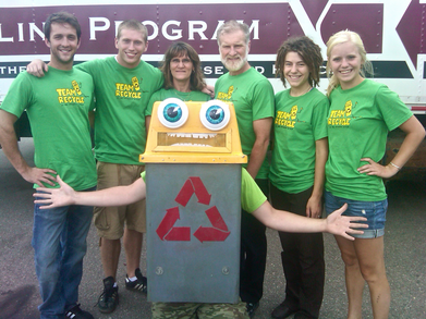 Team Recycle And Suzanne Can At The University Of Minnesota T-Shirt Photo