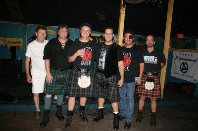 Scots On The Rock At Paradise Grill T-Shirt Photo