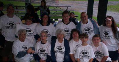 Sciarrino Family 15th Year Reunion T-Shirt Photo
