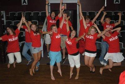High School Musical Cast Jump T-Shirt Photo