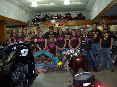 Thomboys Powersports Crew T-Shirt Photo