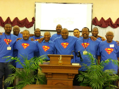 Supermen ~ Men's Fellowship T-Shirt Photo