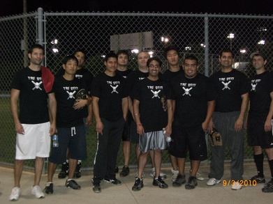 The Unit Softball Team T-Shirt Photo