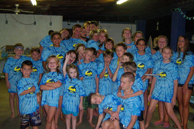 Sac Swim Team 2010 T-Shirt Photo