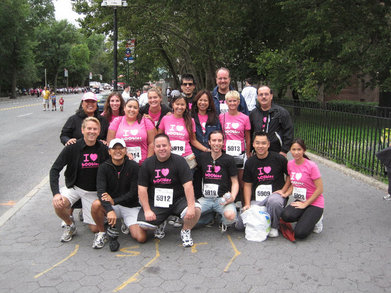 Susan G Komen Nyc Breast Cancer 5k, 9/12/10 T-Shirt Photo