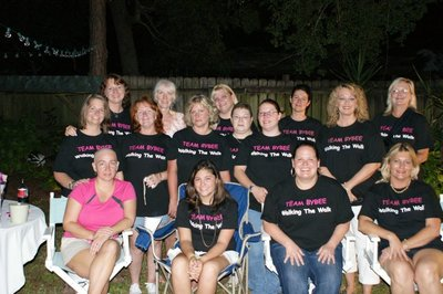 Supporting Dawn In Her Walk! T-Shirt Photo
