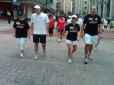 Walking For A Cure For Heart Disease! T-Shirt Photo