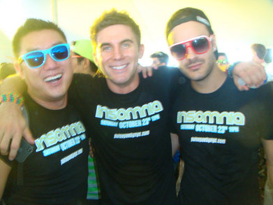Pulse Nyc Crew At Electric Zoo 2010 T-Shirt Photo
