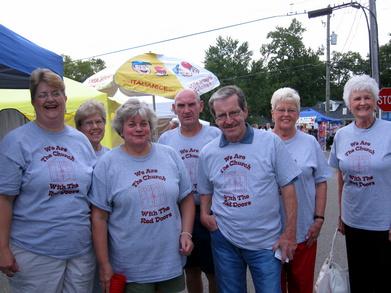 Rockin' The Butterbean Festival! T-Shirt Photo