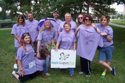 Walk For Lupus Now 2010 T-Shirt Photo