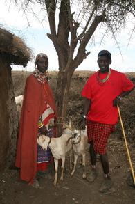 Receiving Goats T-Shirt Photo