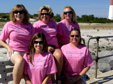 Girls Weekend On Jersey Shore T-Shirt Photo