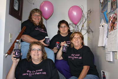 Doniphan County Home Health Raises A Koozie To Breast Cancer T-Shirt Photo