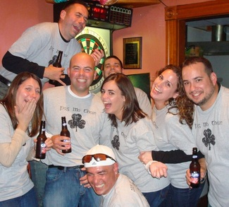 Pub Crawl 2008 T-Shirt Photo