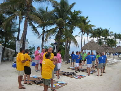 Summer Team Building Event In Key Largo T-Shirt Photo