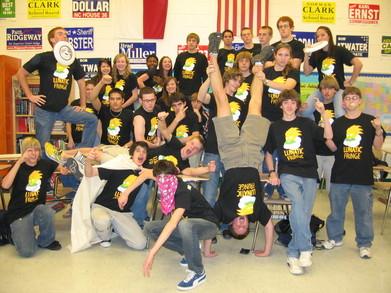 Lunatic Fringe Ultimate Frisbee 06 07 T-Shirt Photo