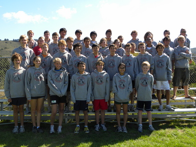 York School Cross Country 2010 T-Shirt Photo