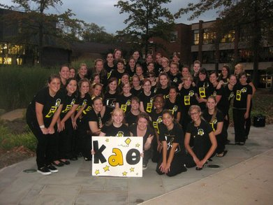 Kappa Alpha Theta: Greek Sing Champions! T-Shirt Photo