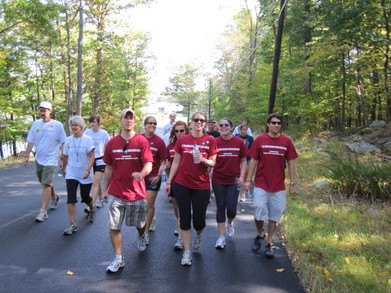 David Nasto Walk For Oral Cancer T-Shirt Photo
