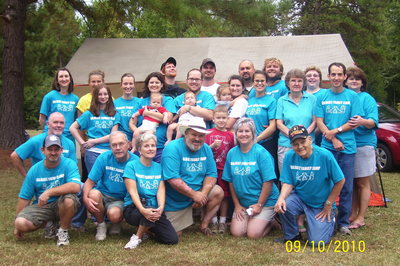 2010 Gilbert Family Camp Out T-Shirt Photo