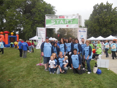 Team Talecris Illinois @ Hemophilia Walk Chicago T-Shirt Photo
