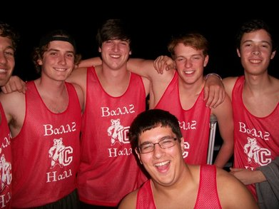 The Men Of 4 Court T-Shirt Photo