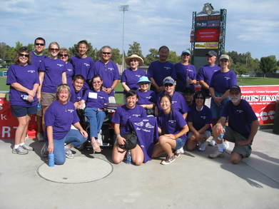 Team Lois' Angels T-Shirt Photo