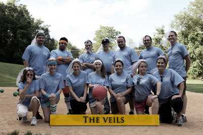 Wedding Kickball Face Off T-Shirt Photo