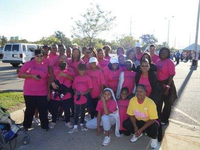 Breast Cancer Walk 2010 T-Shirt Photo