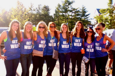Unh Homecoming 2010   Get Wild T-Shirt Photo