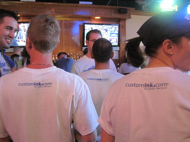 Post Race Celebration! T-Shirt Photo