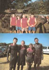 Mud Run 2010 T-Shirt Photo