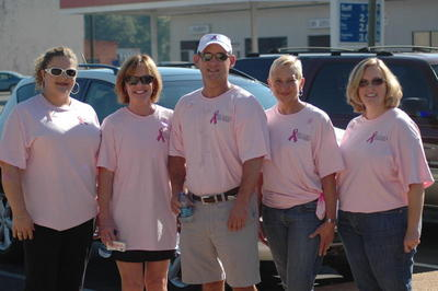 Thinking Pink With Beard Dentistry T-Shirt Photo