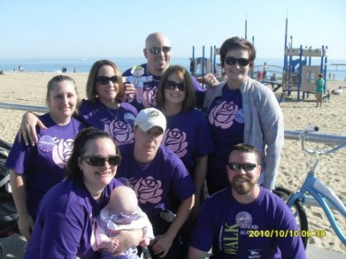 Team Rose   Memory Walk 2010 T-Shirt Photo