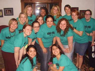 Adel Phi Retreat T-Shirt Photo