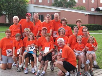 The 2nd Annual Gina Martin Run T-Shirt Photo