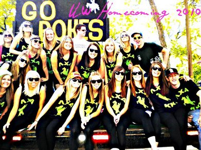 University Of Wyoming Homecoming 2010 T-Shirt Photo
