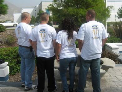 M.S. Aerospace Healthy Living Champs T-Shirt Photo