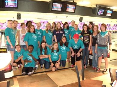 O'connor High School Friends Club Bowling Team T-Shirt Photo