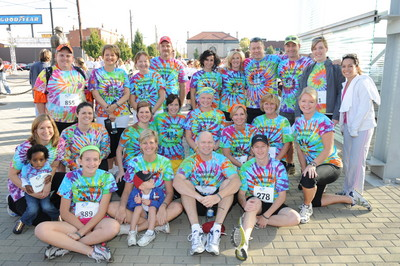Dunnhumby Walk Ahead For A Brain Tumor Team T-Shirt Photo