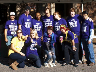 First Amendment 5 K Run Walk ; The College Voice T-Shirt Photo