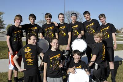 Jhs Drumline 2010 T-Shirt Photo